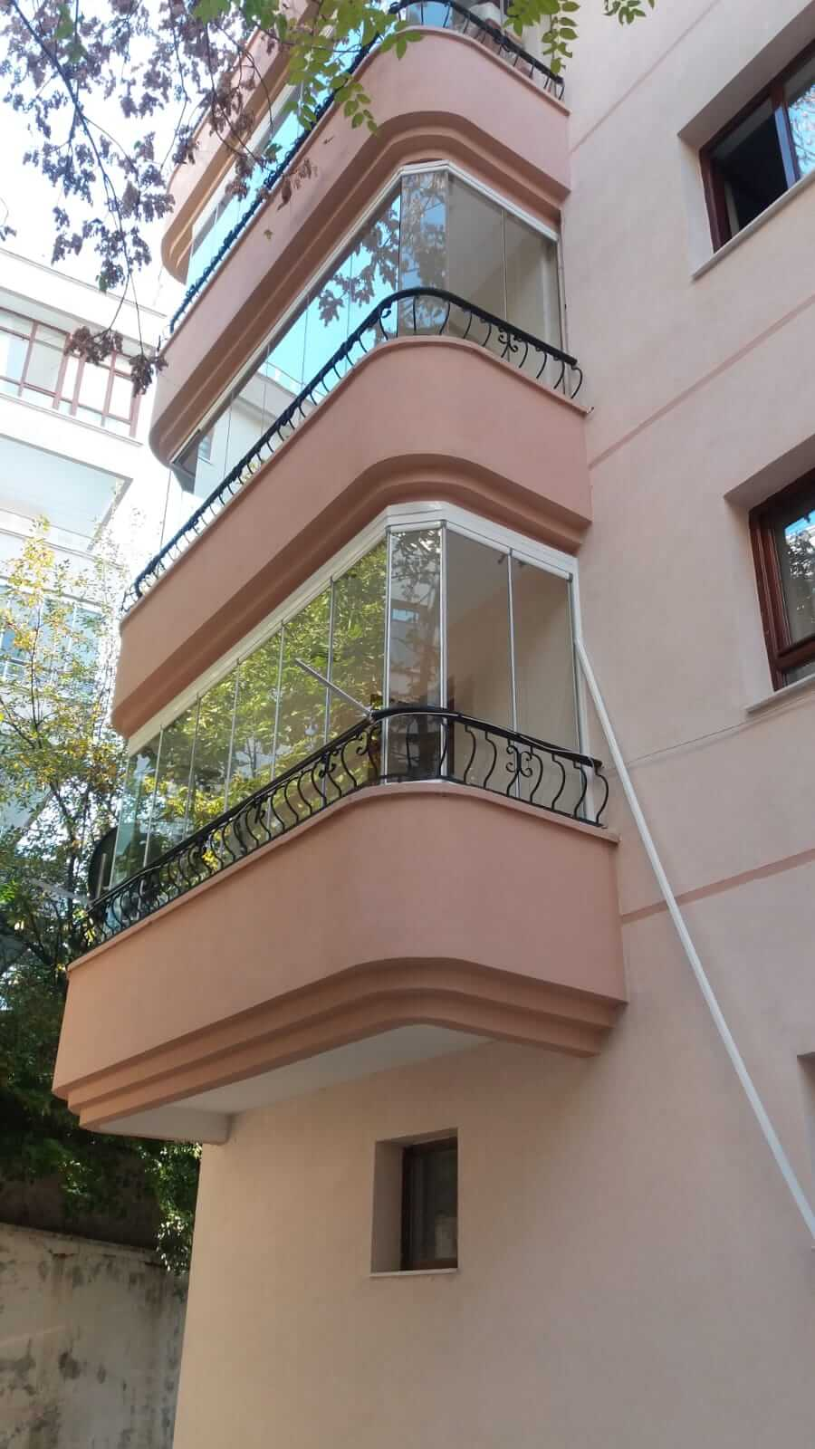 Ankara Cam Balkon Modelleri