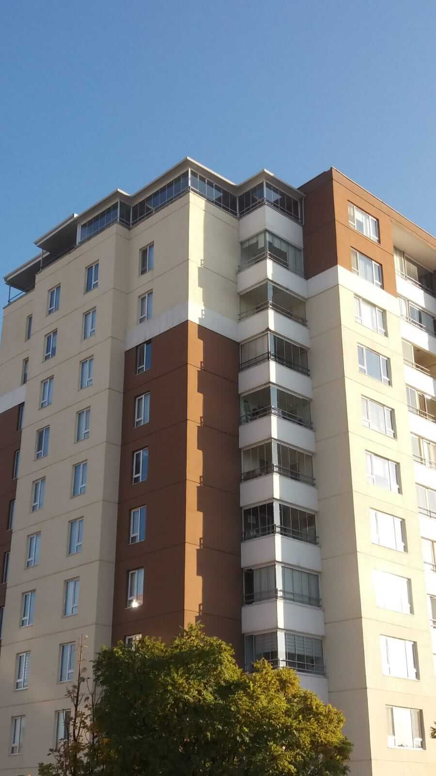 Ankara Gölbaşı Pro Gold Cam Balkon