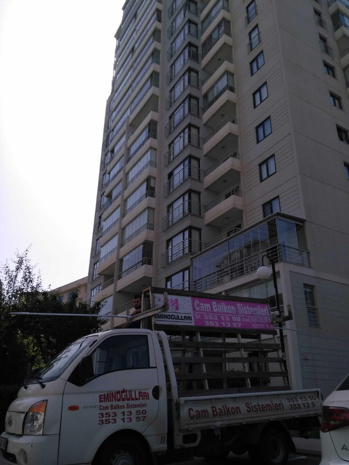 Ankara Pro Gold Cam Balkon