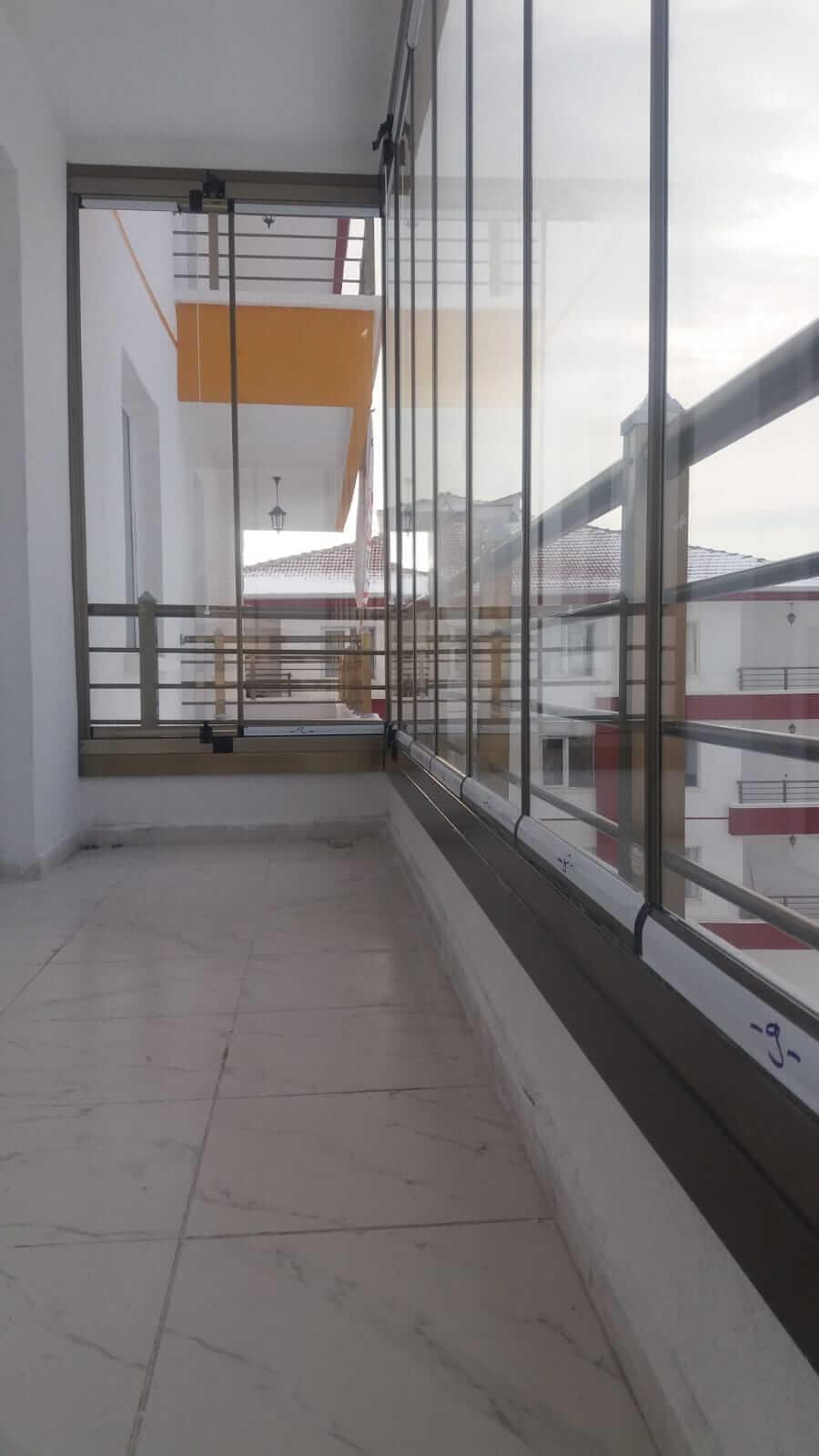 Ankara Siteler Pro Gold Cam Balkon