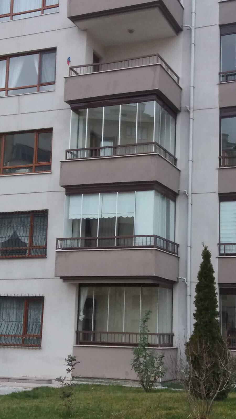 Ankara Yaşamkent Pro Gold Cam Balkon