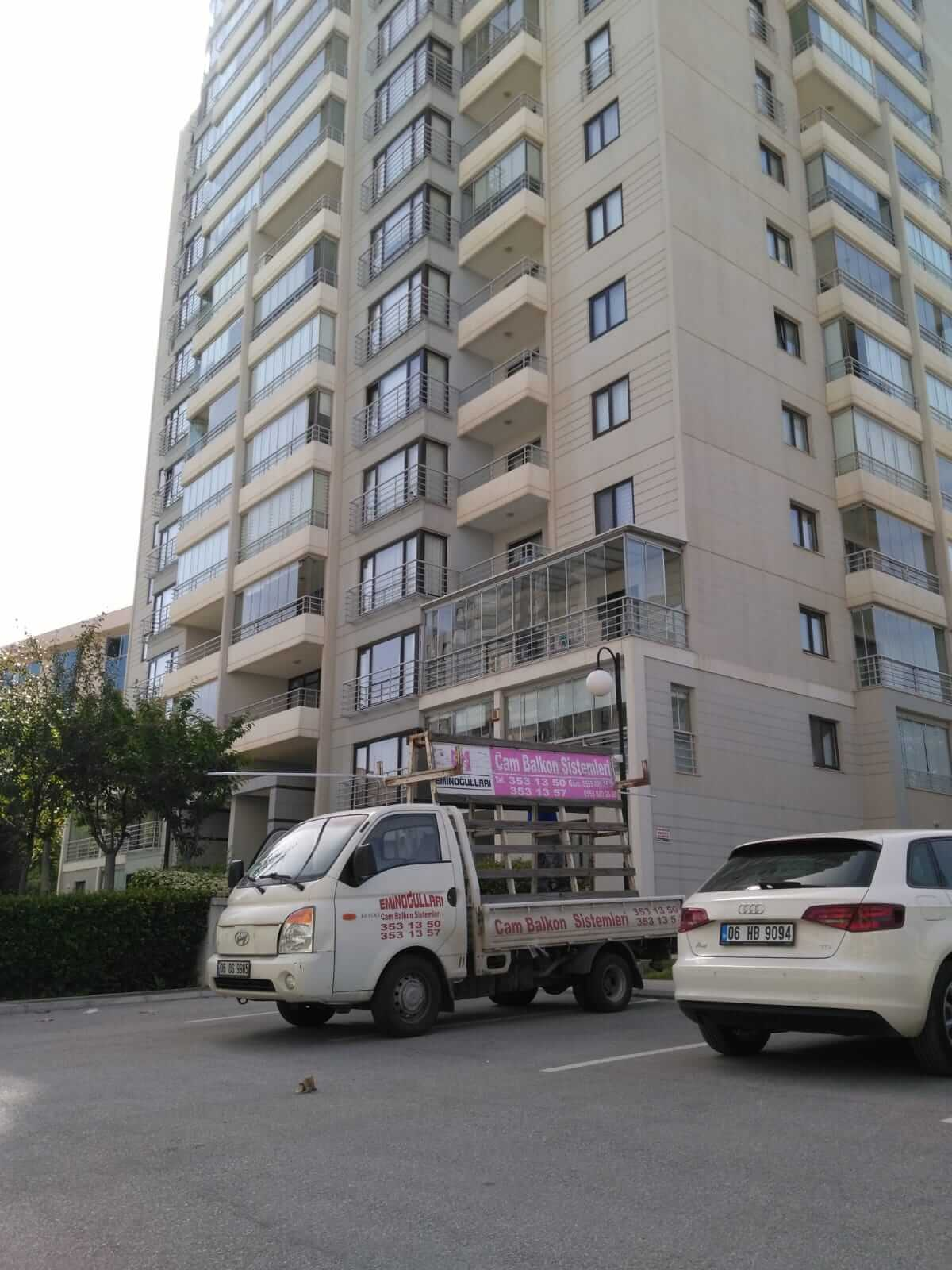 Ankara Yenimahalle Pro Gold Cam Balkon