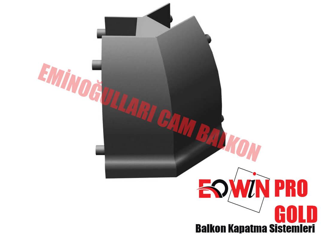 Ankara Cam Balkon, Pro Gold Cam Balkon Kapak 22,5 135 Derece