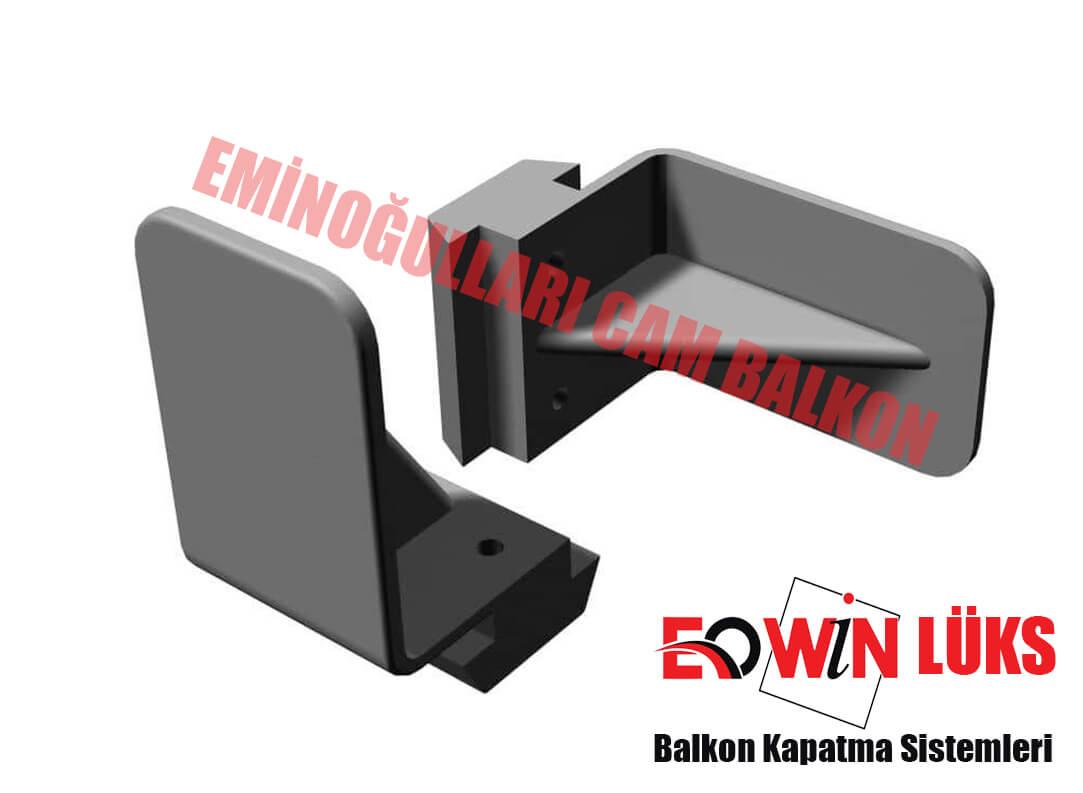 ısıcamlı Cam Balkon Eowin Lüks Seri Alt üst U Kapak