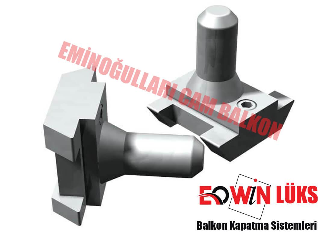 ısıcamlı Cam Balkon Eowin Lüks Seri üst Menteşe
